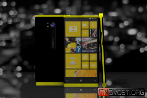 Концепт смартфона Nokia Lumia 930 catwalk